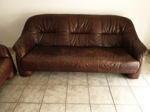 Couch leather / delivery included in Ramstein, Germany