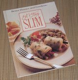 Vintage 1990 Better Homes & Gardens Diet Book Eat and Stay Slim Hard Cover Book in Chicago, Illinois