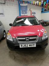 LOW MILEAGE HONDA CRV AUTO 70,000 MILES in Lakenheath, UK