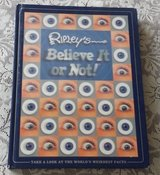 Ripley's Believe It or Not 2004 Holographic Hard Cover Book The Worlds Weirdest Facts in Morris, Illinois