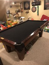 7 Foot Slate Pool Table in Aurora, Illinois