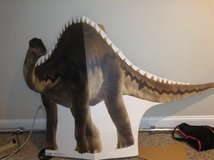 Large Dinosaur Cardboard Cutout in Lockport, Illinois