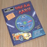 NEW Cool Creations Dream Cars CD Rom Activity Hard Cover Books Set in Chicago, Illinois