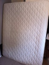 pocket sprung king size mattress. used on guest bed. in Lakenheath, UK
