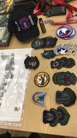 various military patches in Lakenheath, UK