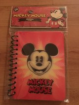 Mickey Mouse notebook in Chicago, Illinois