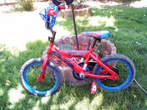 Huffy 16 in Spiderman Bike in Alamogordo, New Mexico