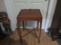 ANTIQUE WALNUT LAMP OR SIDE TABLE in Kingwood, Texas