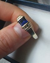 Sapphire Ring, size 7.5 in Naperville, Illinois