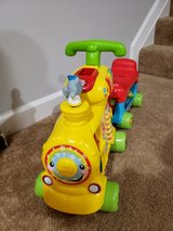 Vtech Alphabet Train Sit or Ride in Fairfax, Virginia