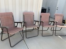 Set of 4 folding chairs in 29 Palms, California