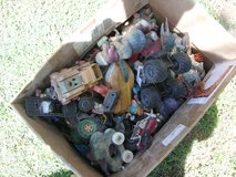 box of old toyes in Fort Knox, Kentucky