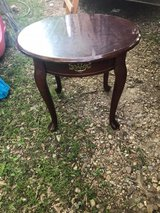 Round End Table in Fort Leonard Wood, Missouri