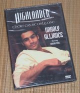 NEW Highlander DVD The Series Unholy Alliance There Can Only Be One in Morris, Illinois