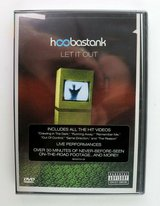 NEW Vintage 2004 Hoobastank Let It Out DVD SEALED in Morris, Illinois