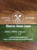 Local Kingwood lawn services! in Kingwood, Texas