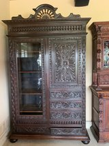 19th Century Rare Antique French Brittany Cabinet 1870 -1900 in Lackland AFB, Texas