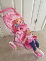Double baby doll stroller in Naperville, Illinois