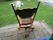 Wood Desk Chair in Naperville, Illinois