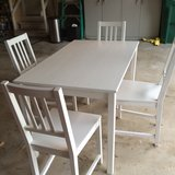 Table and 4 Chairs in Oswego, Illinois