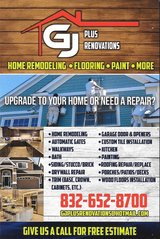 Home Renovations in Tomball, Texas