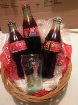 Basket collector's coca cola bottles in Fort Campbell, Kentucky
