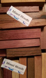 Mixed Woods Pen Blanks (100+Pcs) SET 26 REDUCED PRICE in Kingwood, Texas
