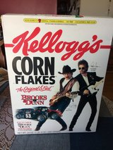 Brooks & Dunn cereal box in Tinley Park, Illinois