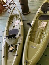 2 Pair Fishing Kayaks New! in Fort Campbell, Kentucky