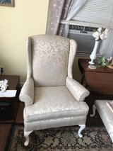Wing back chair in Beaufort, South Carolina