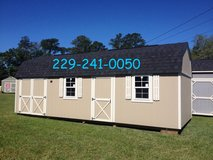 12x28 Handyman Lofted Barn Storage Shed GREAT BUY!!! in Moody AFB, Georgia
