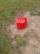 Free gas can in Fort Leonard Wood, Missouri