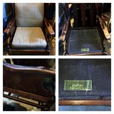 VINTAGE ETHAN ALLEN TAVERN PINE WING CHAIR in Beaufort, South Carolina