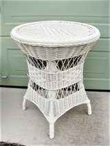 Tall Natural Wicker Table in Lackland AFB, Texas