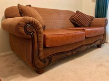Beautiful Leather Couch in Houston, Texas