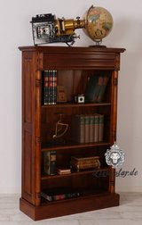 Tasteful Mahagony Bookshelves/Display Cabinets in Ramstein, Germany