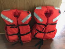2 Adult Life Jackets in Naperville, Illinois
