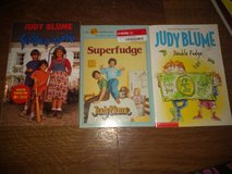 Judy Blume Fudge Books in Fort Leonard Wood, Missouri