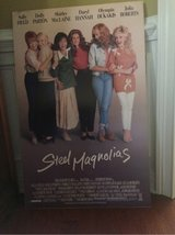 poster from movie.    STEEL MAGNOLIAS in Byron, Georgia