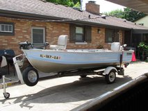 Fishing Boat,Motor & Trailer in Naperville, Illinois