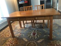 Pottery Barn Kids Table and Chairs in Naperville, Illinois