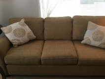 Bassett sofa and chair 2 end tables.   MOVING SALE in Tacoma, Washington