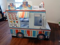 Melissa and Doug cardboard food truck in Fort Campbell, Kentucky