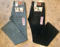 NWT Levis 518 Superlow Bootcut Size 7 & 9 Juniors in Okinawa, Japan