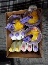 Box of BABY Lotions, wash, and gift packs -unused, unopened with tags in Cleveland, Texas