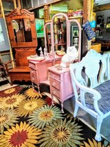 antique Pearl pink vanity in Cherry Point, North Carolina