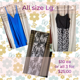 Womens size Lg. sundresses in Fort Polk, Louisiana