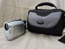 Cannon DC210 DVD Camcorder, Bag, and 3 DVD-Rs in Fort Campbell, Kentucky