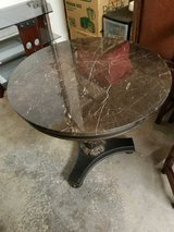 Beautiful Marble Top Table in Beale AFB, California