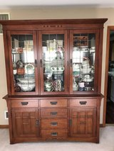 Solid Wood China Cabinet in Tinley Park, Illinois